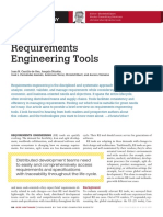 Requirements Engineering Tools