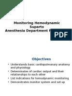 Monitoring Hemodynamic Utk Mahasiswa