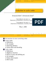 Cyclic Code 1