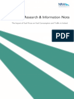 The Impact of Fuel Prices on Fuel Consumption and Traffic in Ireland .PDF (Model)