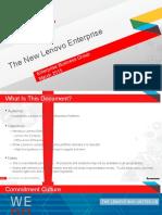 The New Lenovo Enterprise March 2015