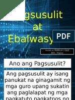 Pagsusulit at Ebalwasyon Fil 20