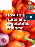 How to Keep Fruit at Home