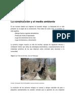 Construcción y Medio Ambiente. Carmen Espinosa