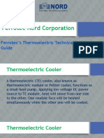 Ferrotec's Thermoelectric Technical Reference Guide