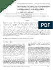 Survey on Clustering Based Color Image Segmentation and Novel Approaches to Fcm Algorithm