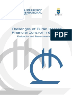 Challenges of Public Internal Financial Control in Georgia