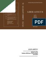 Liber Annuus - Volume 54, 2004.pdf