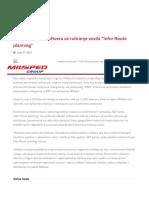 "Implementacija Softvera Za Rutiranje Vozila ""Infor Route Planning"" – Milsped"