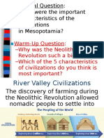 river valley civilizations--mesopotamia