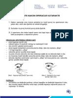 UPUTE NAKON OPERACIJE KATARAKTE.pdf