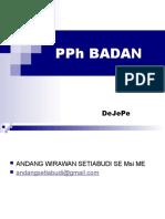 PPH Badan