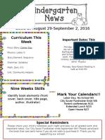 Newsletter Aug 29-Spet. 2