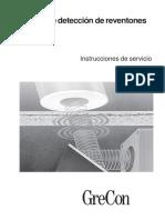 Instrucciones de Servicio UPU3000