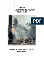 Curso Incendio Industrial