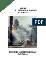 Curso Incendio Industrial
