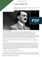 ¿Cuándo Fue Posible Parar a Hitler_ - RT