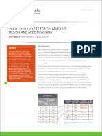 Whitepaper Particle Counters for Oil Analysis Design Specifications