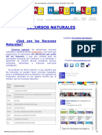 Recursos Naturales ¿Qué Son Los Recursos Naturales_ Tipos y Más