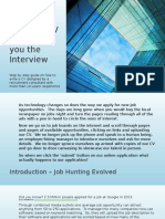 how to create a cv