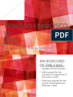 Francisco vs GSIS