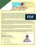 september newsletter-spanish 2016