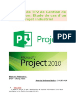 Rapport de TP2 de Gestion de Production