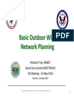 Basic WiFi Net Planning