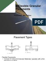 Design of Flexible Pavements