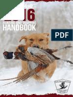 South Dakota 2016 Hunting and Trapping Handbook
