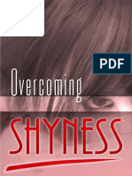 Overcome shyness in dating
