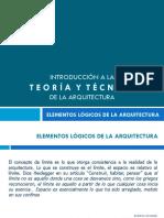 Elementos Lógicos de La Arquitectura