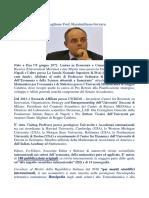 Medaglione Prof. Massimiliano Ferrara