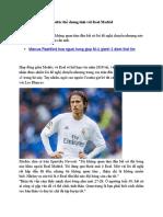 Modric The Chung Tinh Voi Real Madrid