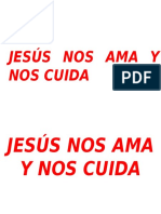 Jesús Nos Ama y Nos Cuida