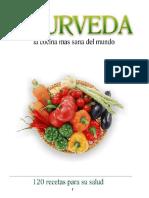 Ayurveda La Cocina Ms Sana Del Mundo