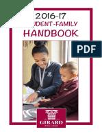2016-2017 Student-Family Handbook
