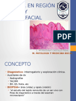 Biopsia en Región Bucal y Maxilofacial