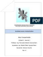 Instalaciones Industriales - U6-A1 - Aire Comprimido.