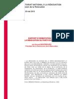 Rapport Montebourg PS rénovation
