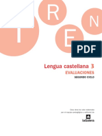 La Galera Evaluaciones 3 Lengua