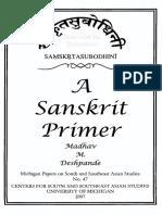 Madhav Deshpande - A Sanskrit primer.pdf