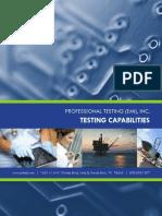 Professional Testing Capabilities Book