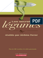 Les Secrets Des Légumes Révélés Par Jérôme Ferrer