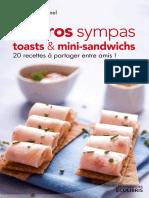 Apéros Sympas, Toasts Et Mini-sandwichs