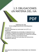 Obligaciones Del Iva