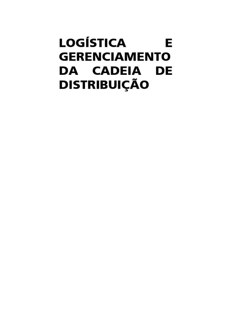 72b9d6510d891 Logistica e Gerenciamento Da Cadeia De Dis - 4 8 8AB 0B