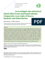Local Measures to Mitigate the Urban Hea