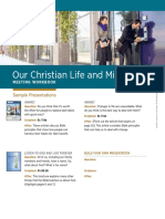 Our Christian Life and Ministry—Meeting Workbook