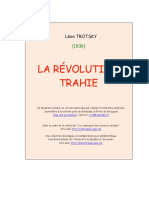 Trotsky Revolution Trahie